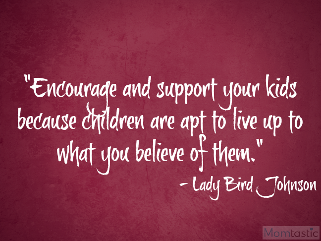 40 amazing quotes on parenthood via @ItsMomtastic featuring Lady Bird Johnson