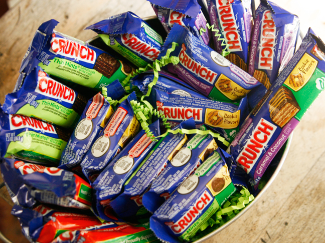 Crunch Girl Scout Bars