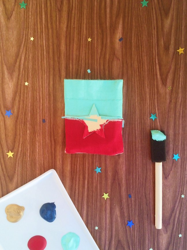 DIY Star Spangled 4th of July Favour Boxes | Shauna Younge