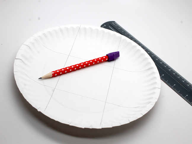 How to Make Fourth of July Paper Plate Bowls; mumtastic.com