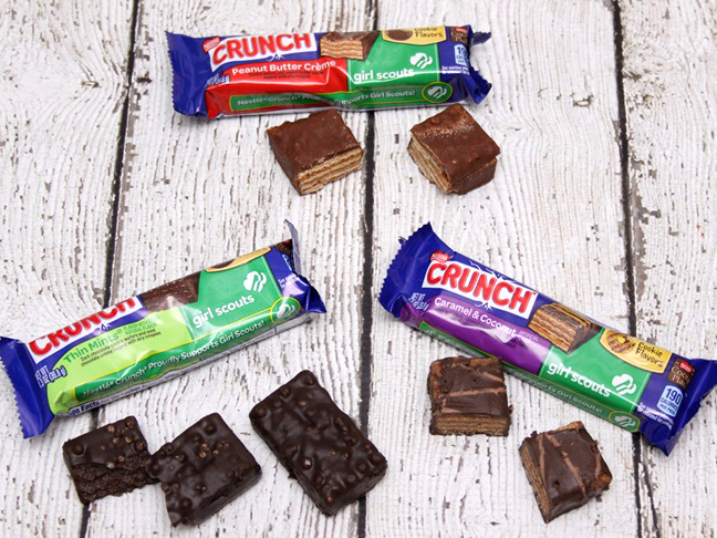 Nestle Crunch Girl Scout Cookie bars 2