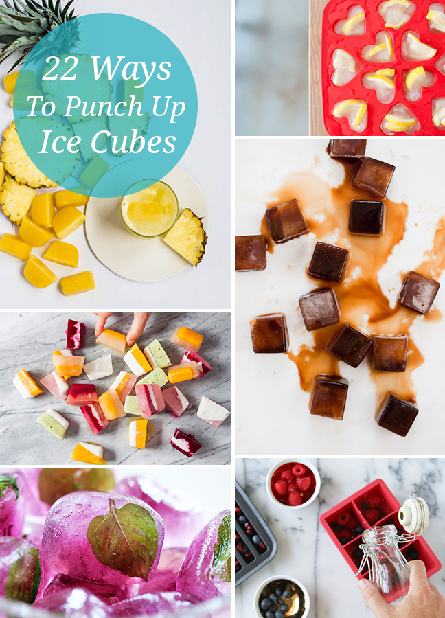 22 Ways to Punch up your Ice Cubes