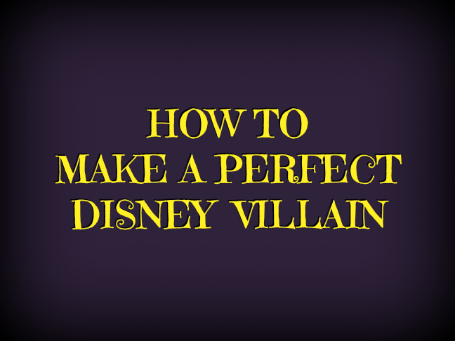 How to make a perfect Disney villain - a recipe for those who love Descendants on @ItsMomtastic by @letmestart