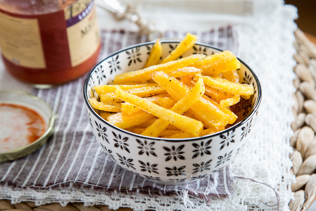 Polenta Fries Recipe Momtastic Com