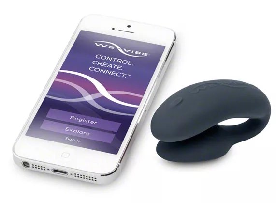 We Vibe 4 Plus and its corresponding mobile app that controls vibrations remotely