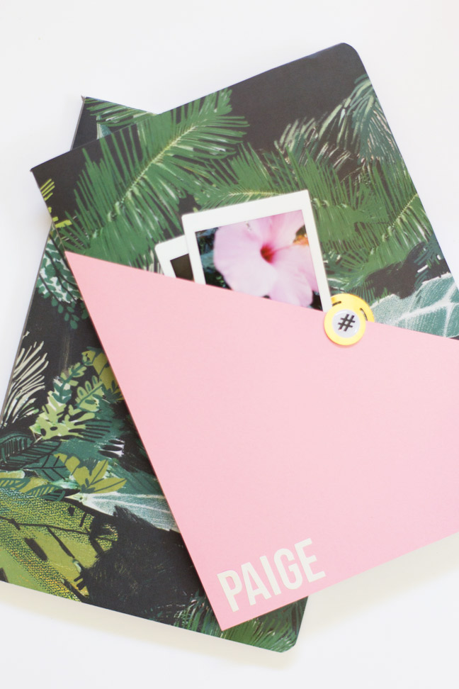 diy-personalized-composition-notebook-pink-gold-palms3