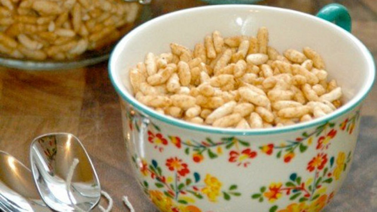 Puffed Rice Cereal Recipe for Babies