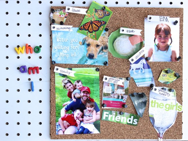 "Create ""Who Am I?"" Vision Boards & Give Your Kids a Boost This School Year"
