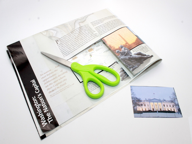 DIY Travel Journal brochure