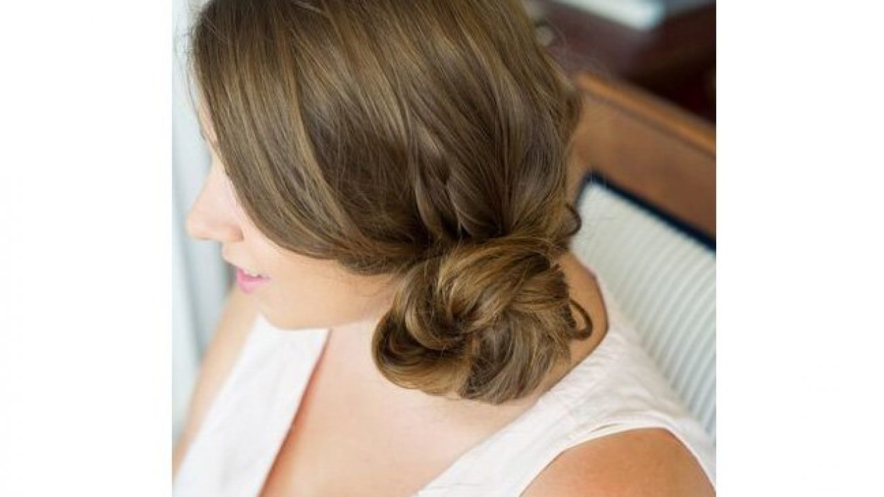 Try This Two Minute Messy Side Bun Tutorial To Look Polished Fast