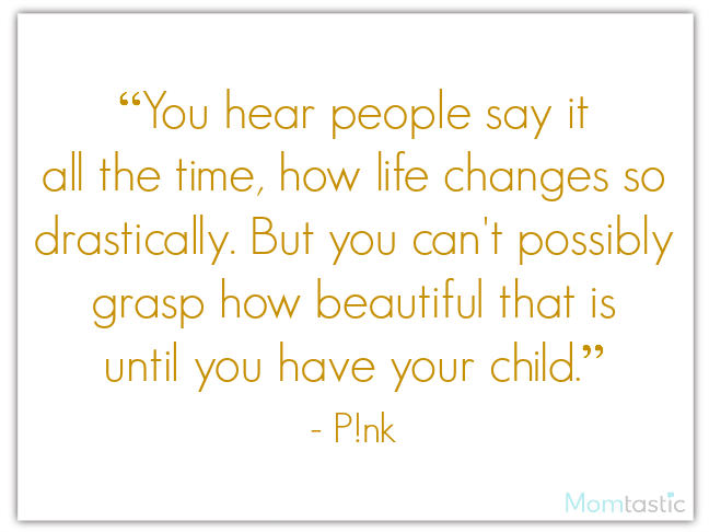 40 best quotes about babies featuring Pink on @ItsMomtastic
