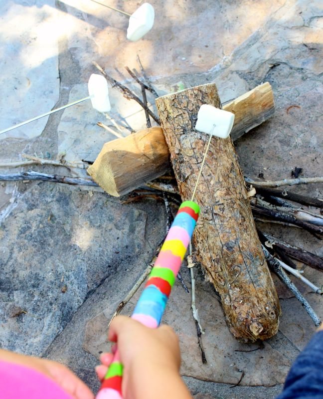 diy-marshmallow-roasting-stick-rainbow-colors-kids-art-project-wood-smore-by-the-fire