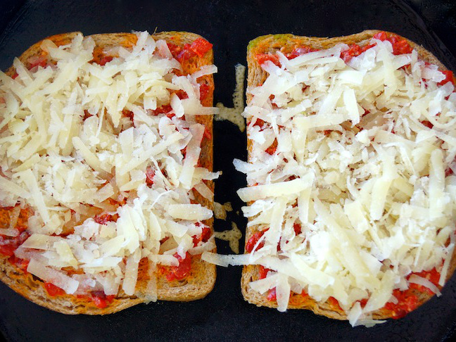 grated cheese-toast