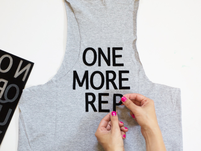 placing-letters-on-iron-on-tee