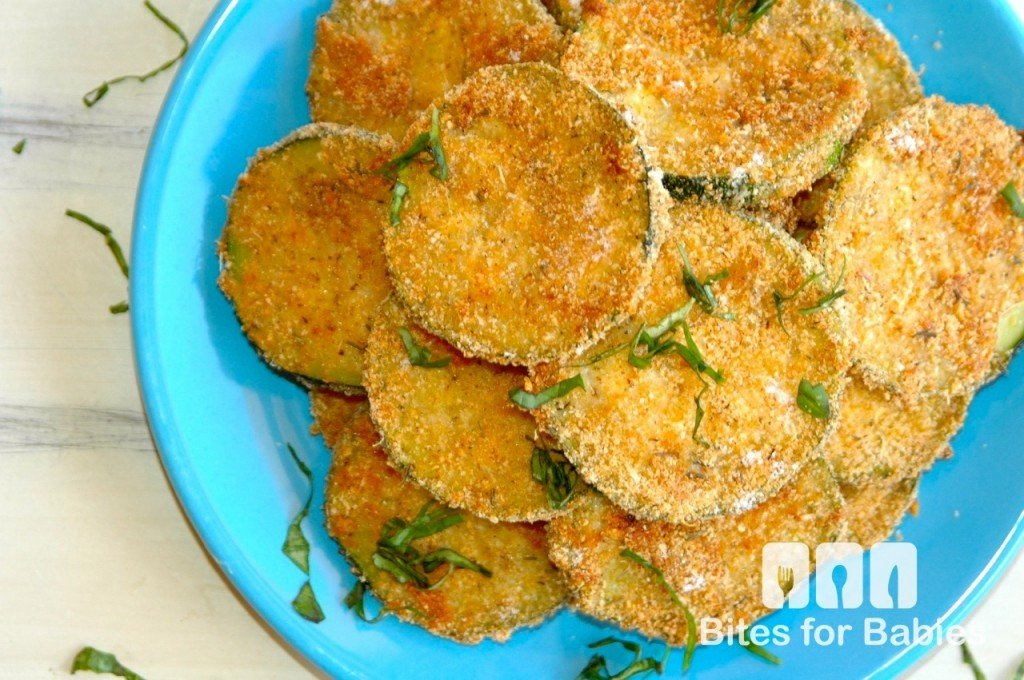 Baked Zucchini Medallions