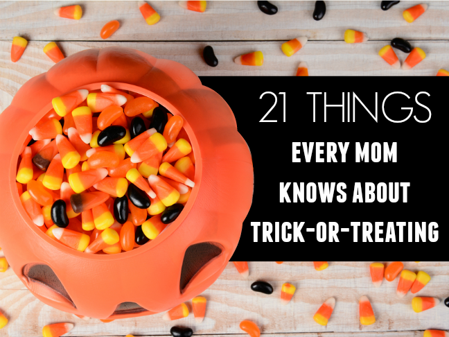 21 things every mum knows about trick or treating | Halloween humour and funny lists for parents on @itsmomtastic by @letmestart