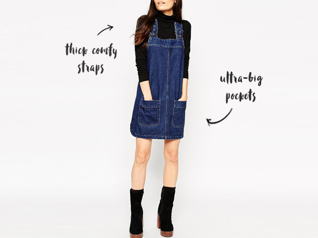 cool pinafores for mums #fashion #style #hipstermum