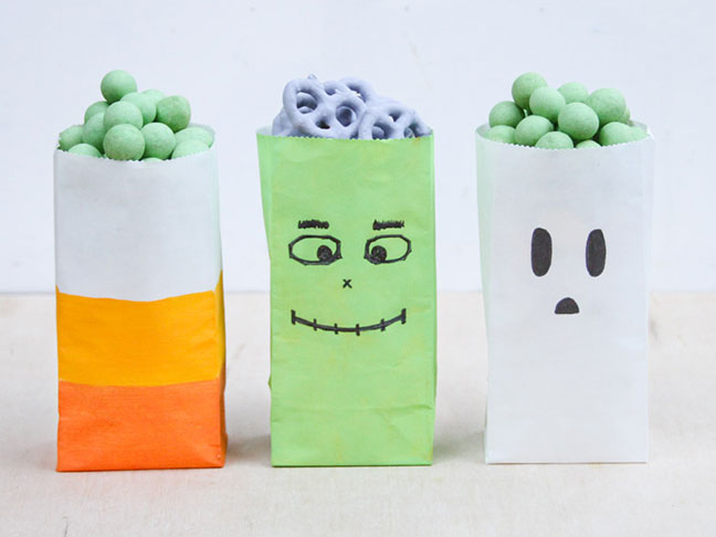 Halloween Party Favor and Candy Bags