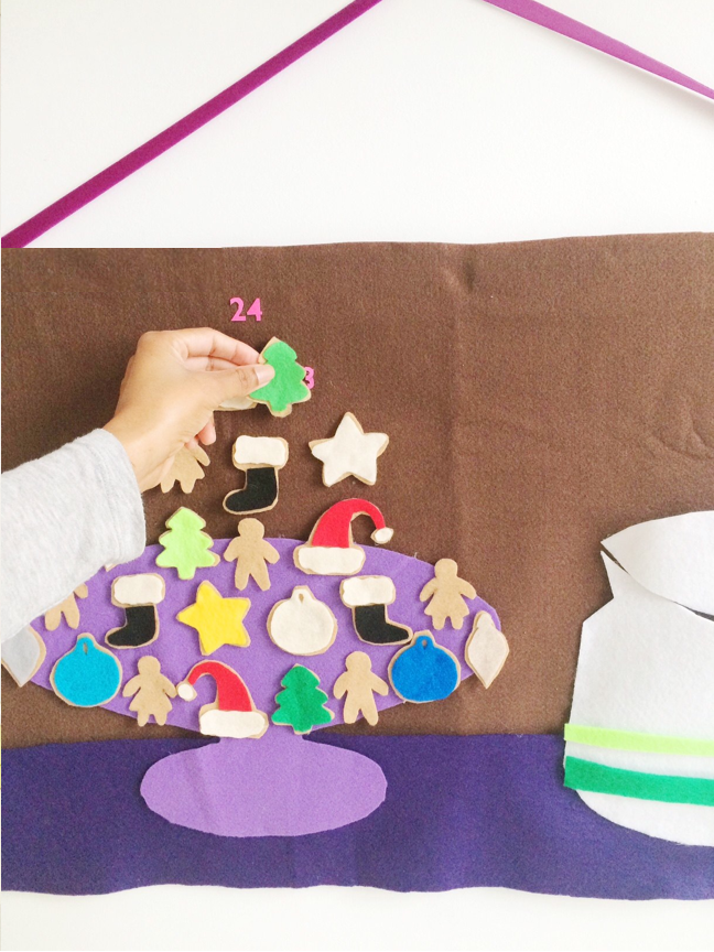Cookie Jar Advent Calendar by Shauna Younge for Momtastic