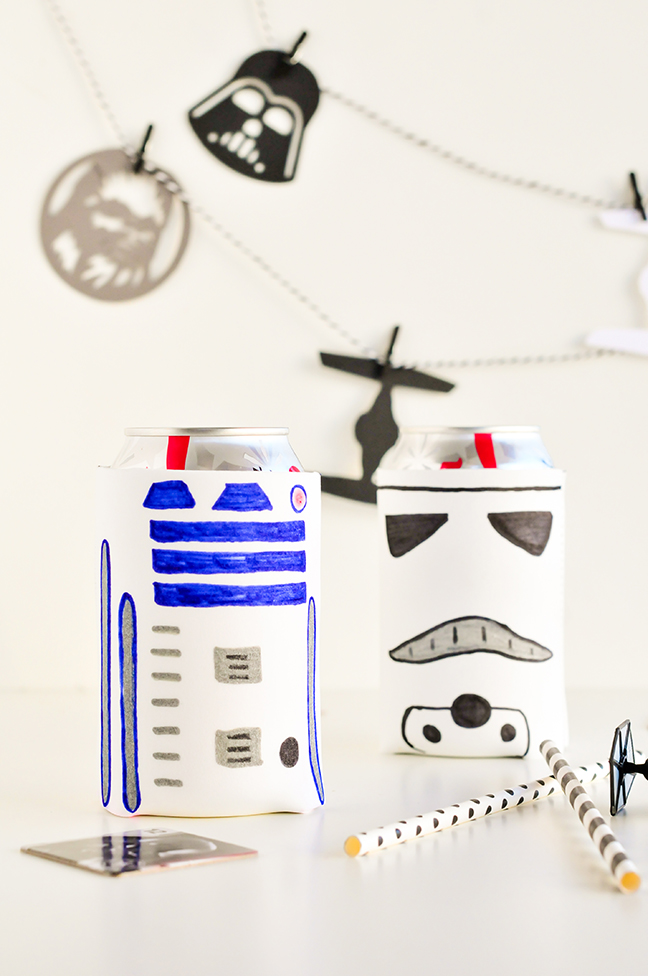 DIY Star Wars Koozies