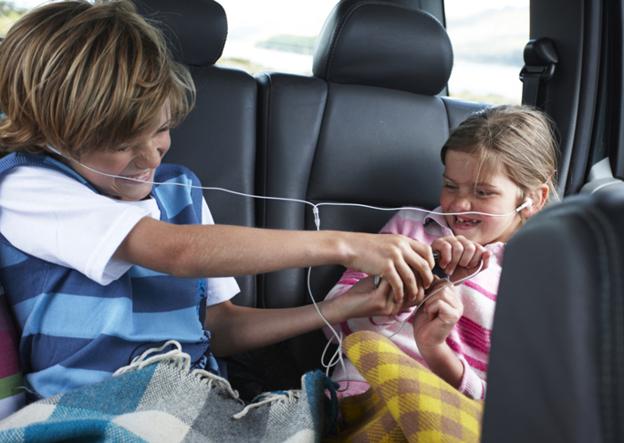 The superpowers parents use while driving