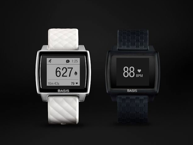basis peak pedometer and BPM tracking features