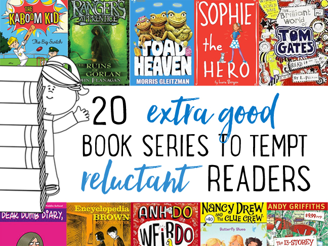 20 best book series for reluctant readers