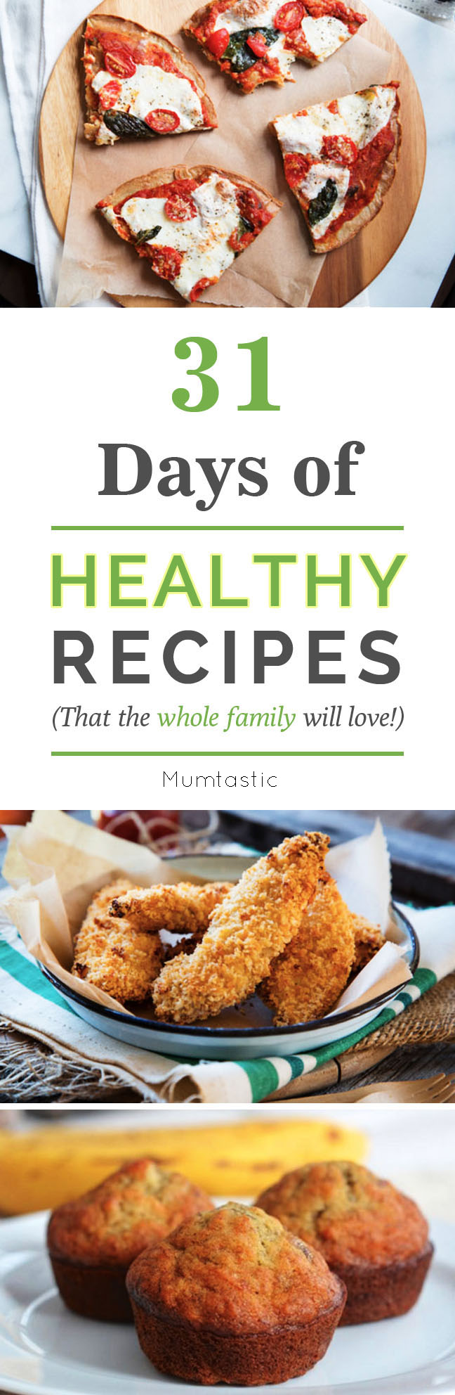 31 Days of Healthy Recipes the Whole Family Will Love