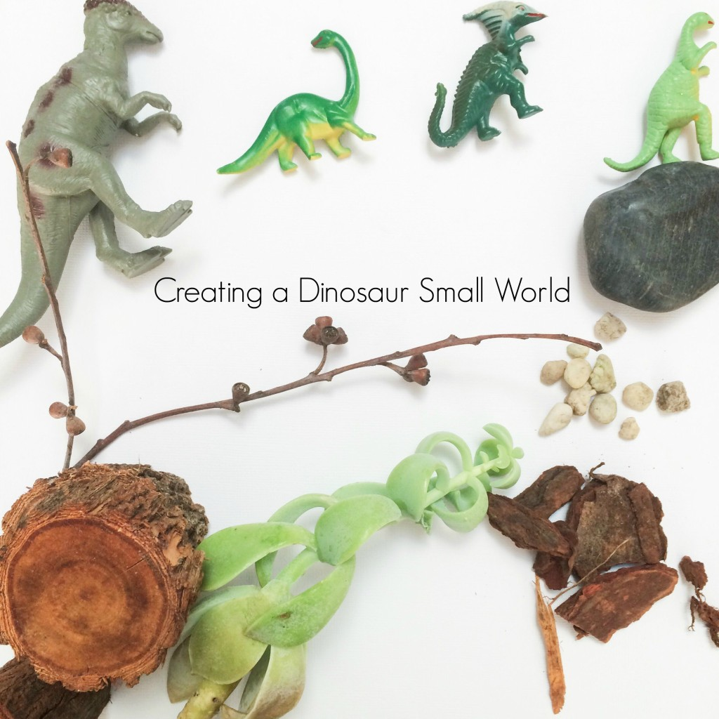 Small worlds: Dinosaur play