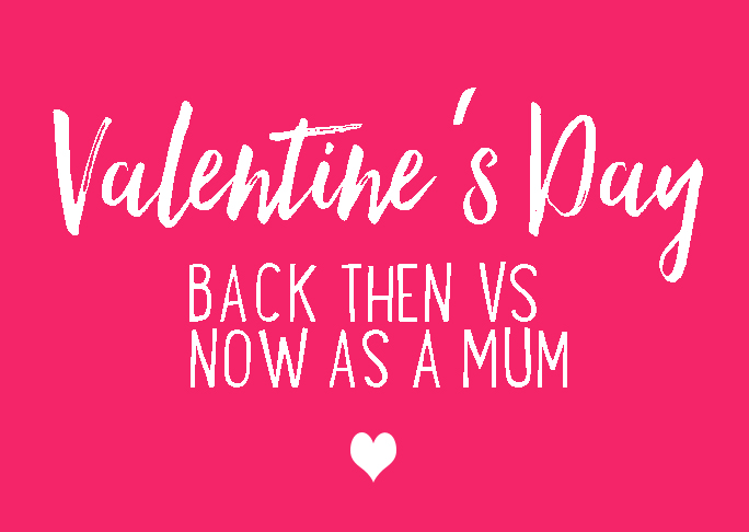 Valentine's Day back then vs now