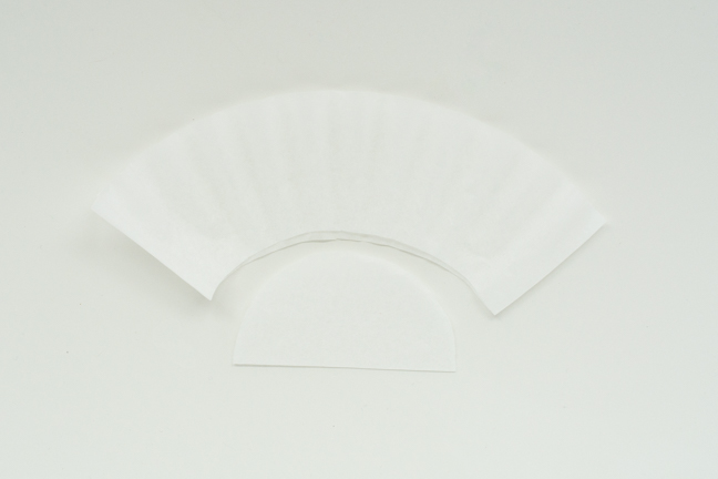 coffee filter cut