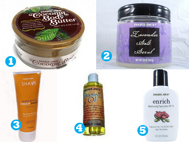 5 must have beauty products from Trader Joe's