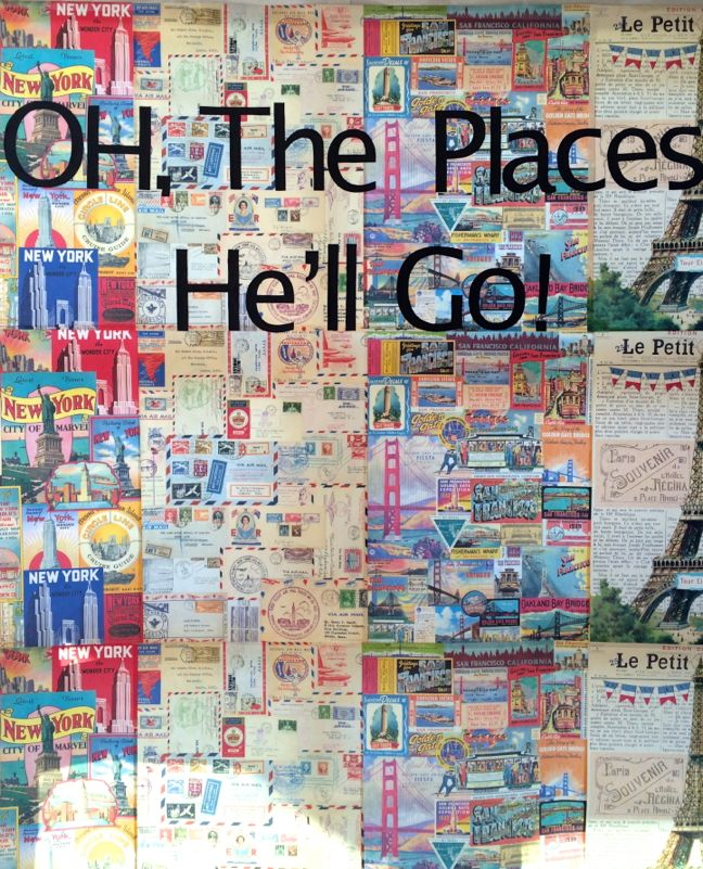 dr-seuss-oh-the-places-he'll-go-baby-shower-travel-photo-booth-DIY-wrapping-paper-maps