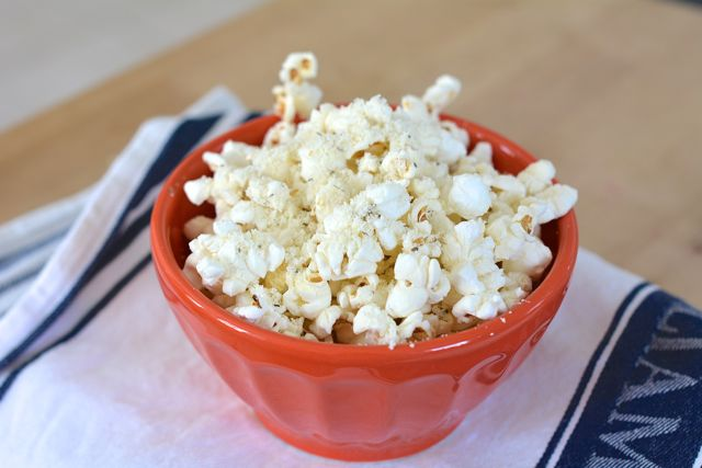 Zesty Homemade Popcorn