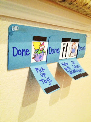 chore chart for kids