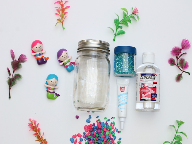 mason jar mermaid aquarium supplies