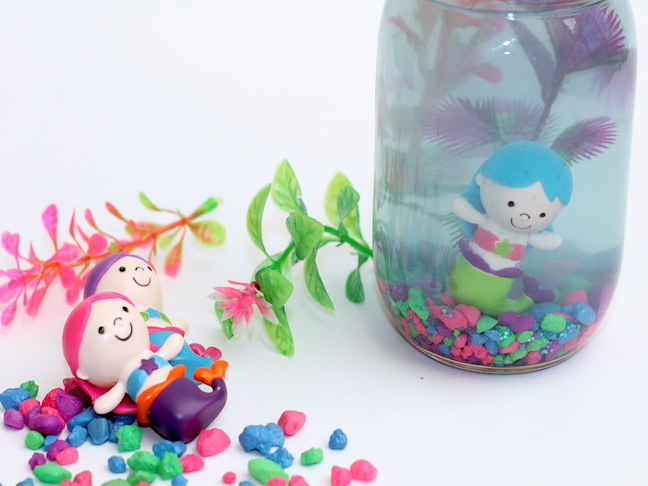 DIY mermaid aquarium