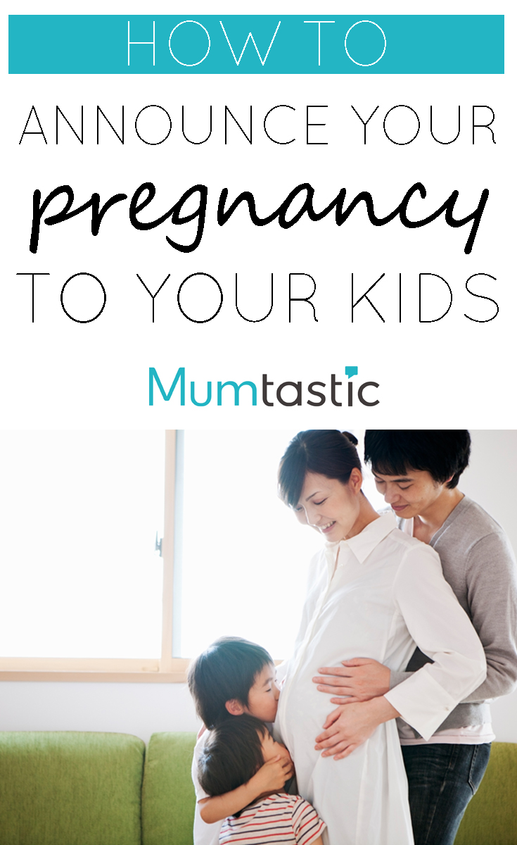 How to Announce Your Pregnancy to Your Kids - tips and advice for making it easy