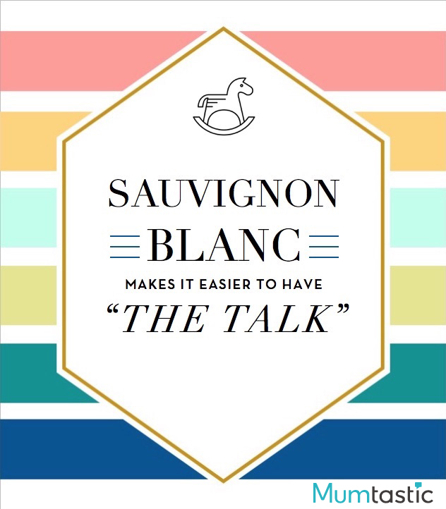 Wine labels for mum - the 'talk'