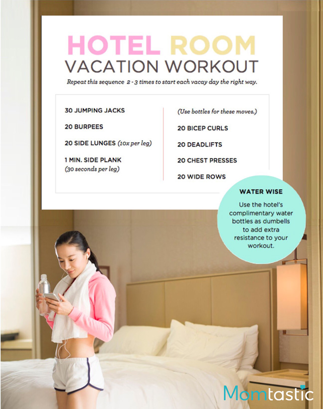 calorie-burning-easy-travel-workouts-4-hotel-room-bedroom