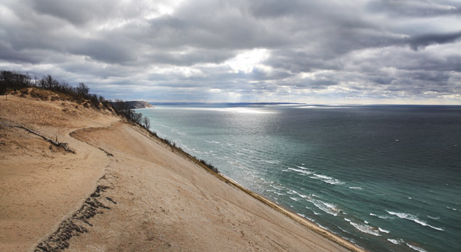 Lake Michigan Dune