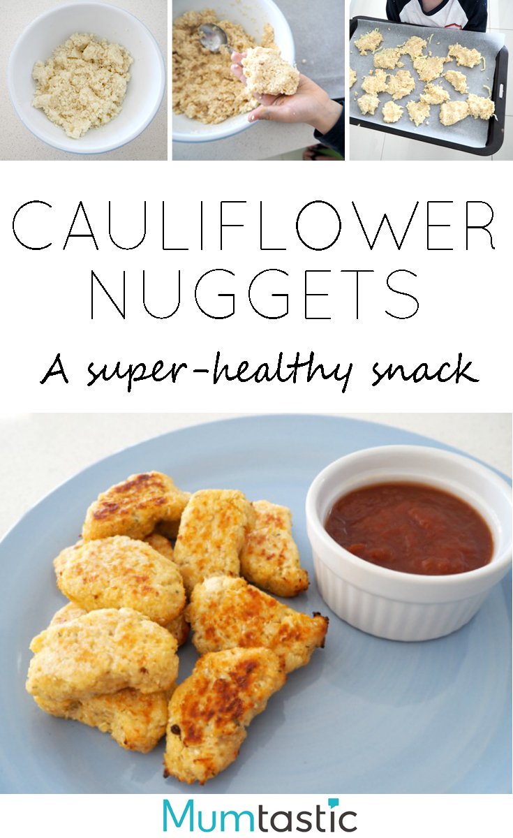 Cauliflower Nuggets - a super-healthy snack