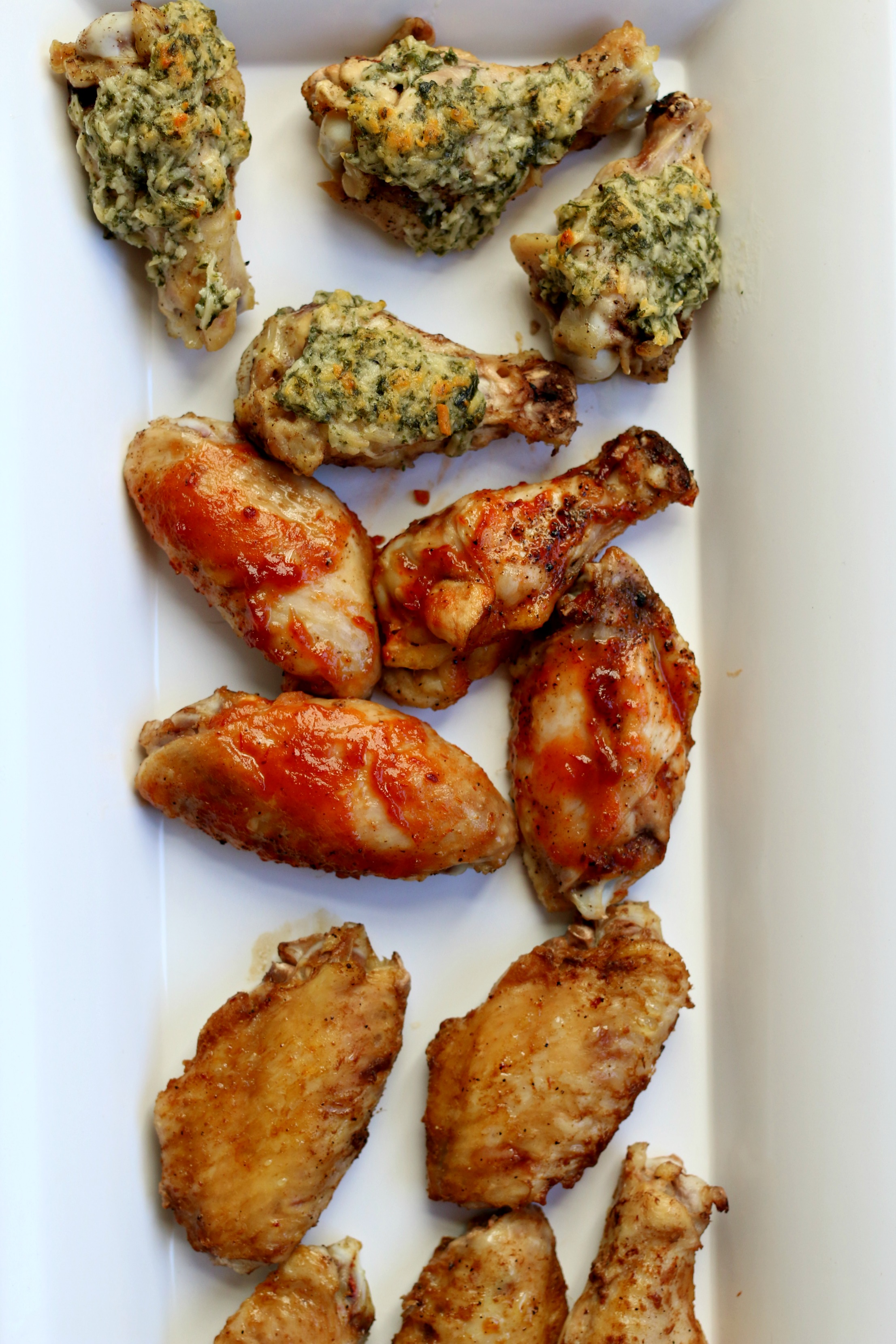 slow cooker seasoned chicken wings
