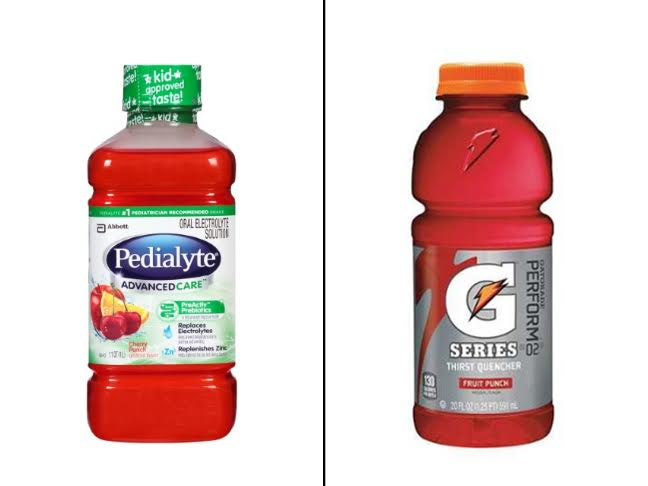 Pedialyte Vs Gatorade What S Better For Your Sick Kid