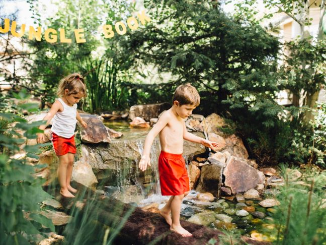 diy-obstacle-course-for-kids-water-crossing-backyard-pond
