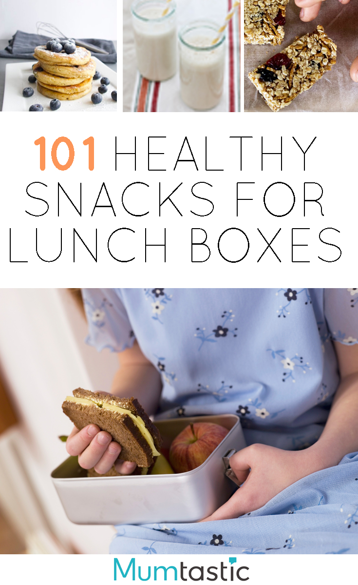 101 Nutritious snacks for the lunch box