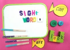 15 Fun Ways to Teach Your Kids Their Sight Words