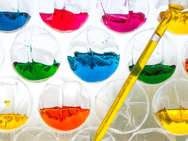 Colour Theory Science Experiment For Kids