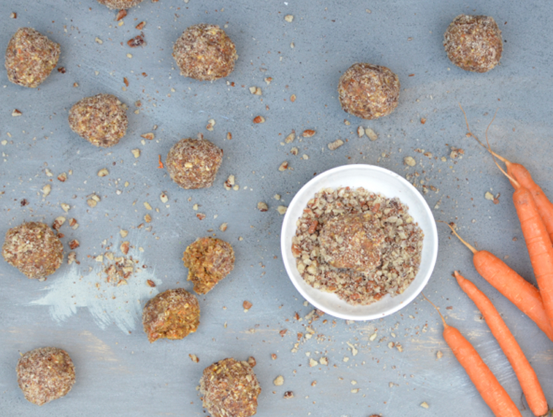 Carrot Cake Bliss Balls Recipe