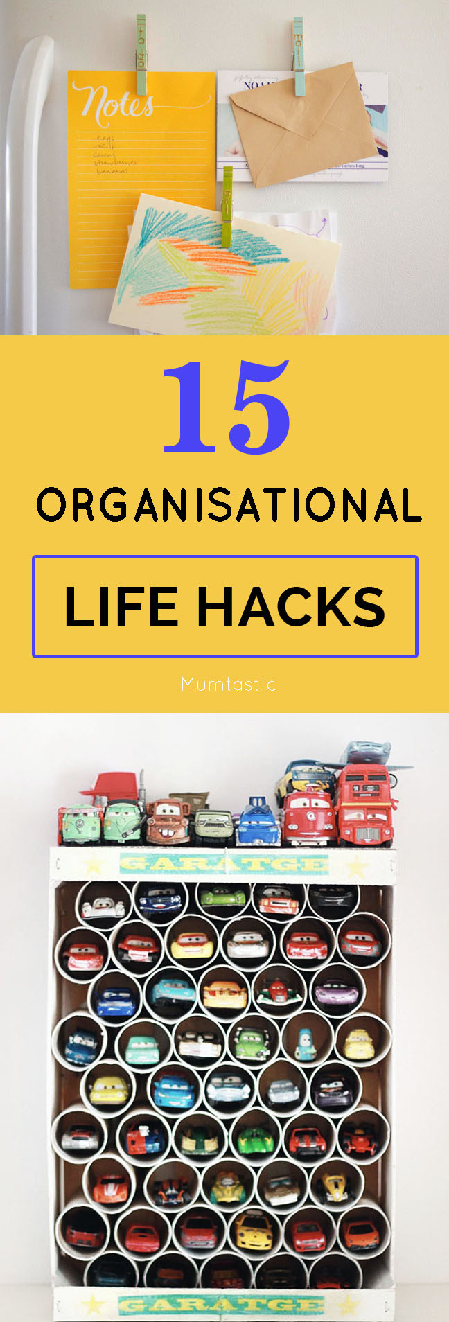 15 Organisational Life Hacks